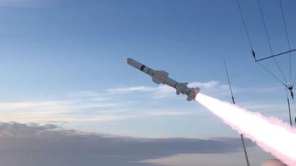 Belgisch fregat Louise-Marie vuurt voor eerst Harpoon-raket af