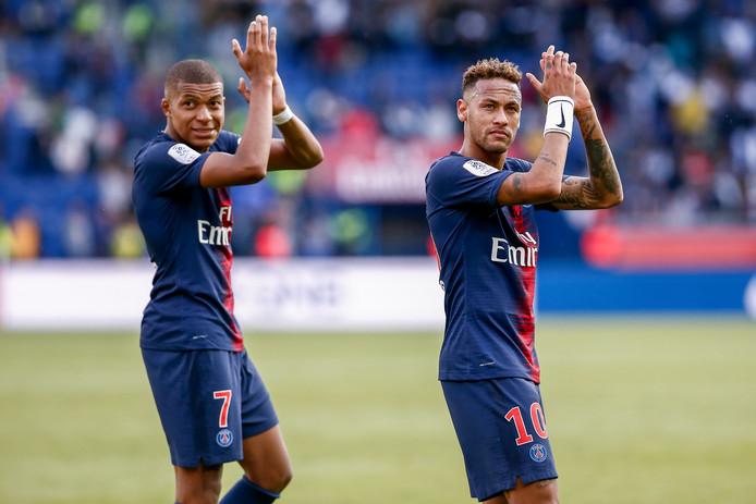 Mbappé en Neymar