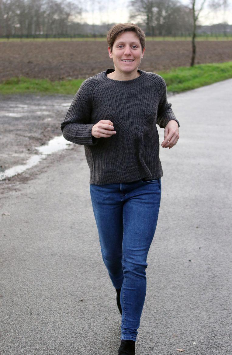 Amper twee dagen na haar deelname aan de Hel van Kasterlee kon Kim al terug met de glimlach lopen voor de foto