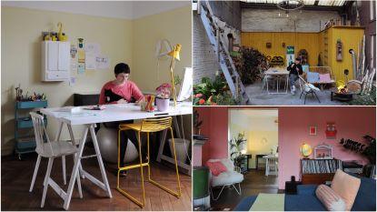 """WOONVIDEO: """"We worden hier spontaan blij"""": in dit huis van Eva Mouton zie je alle kleuren van de regenboog"""