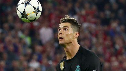 Haast onzichtbaar en toch heeft Cristiano Ronaldo een nieuw CL-record te pakken