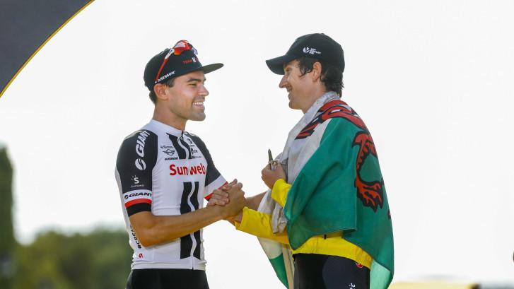 'Groot respect voor Tom, hij is een geweldige renner'