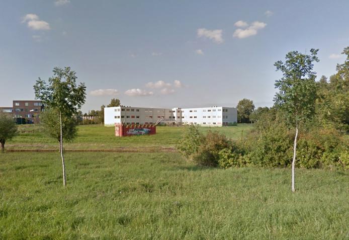 Het verlaten Vlissingse verpleeghuis Weyevliet.