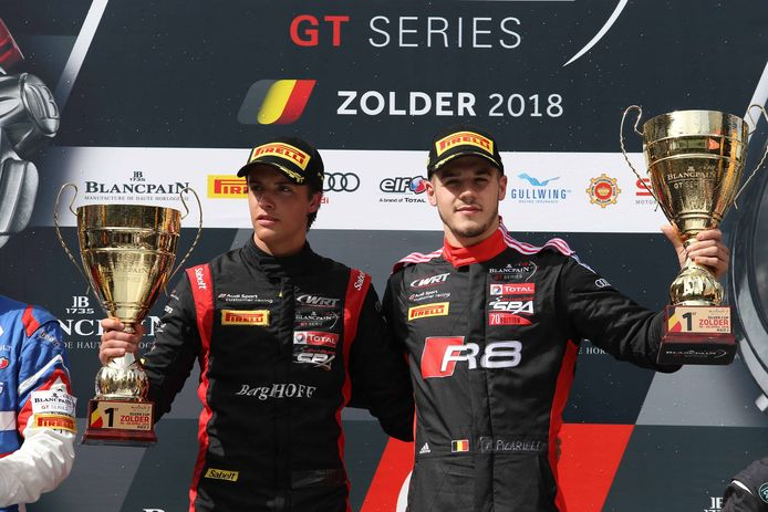 Gilles Magnus (à gaucheà va réaliser son rêve en intégrant la Coupe du monde des voitures de tourisme.