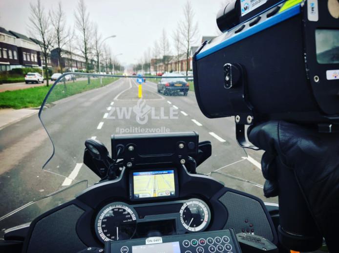 Foto van Zwolse wijkagent Maarten van Esch