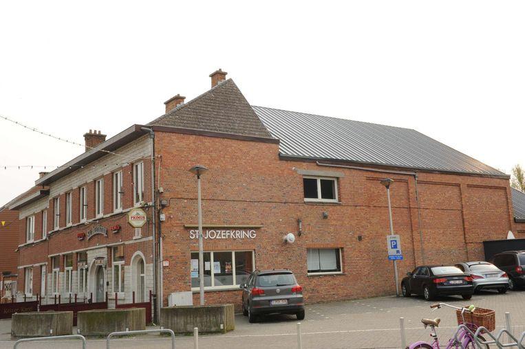 Sint-Jozefkring waar het dak met asbest onlangs werd verwijderd en vervangen.