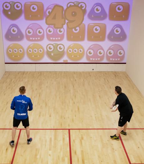 Zweten op 'Candy Crush' en topografie: Tilburg opent eerste virtuele squashbaan Brabant