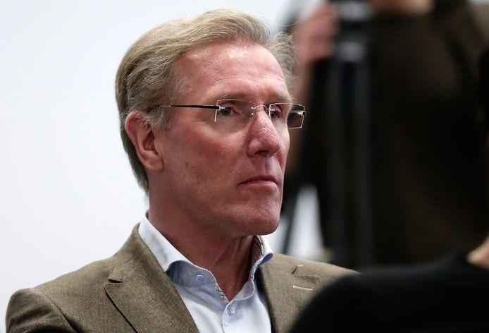 Hans van Breukelen in zijn huidige functie als technisch directeur van de KNVB.