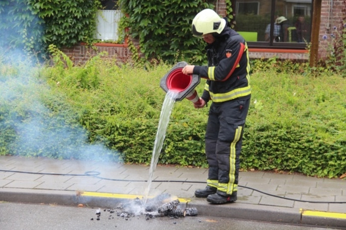 Schoorsteenbrand Middelburg