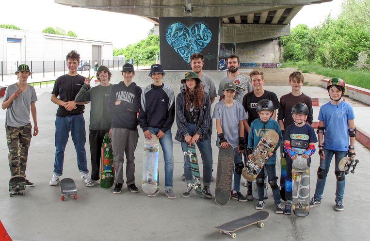 De skaters van De Loods.