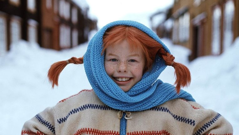 Inger Nilsson als Pippi Langkous. Beeld afp