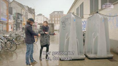 """Hilarisch: Erika Van Tielen trekt met 'De Ideale Wereld' naar Gent, om de """"toeristische geneugten"""" van de Overpoortstraat te ontdekken"""