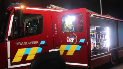 Nachtelijke brandgeur in Ninovestraat