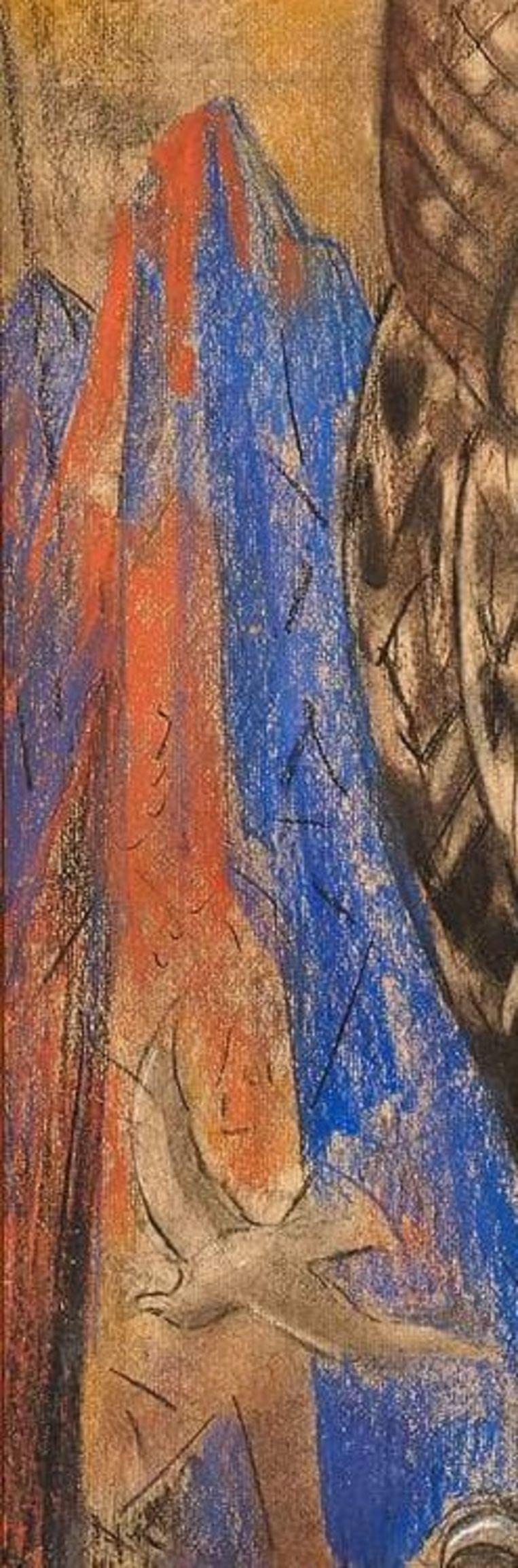 Van dhr. Bas van de Klundert, uit: Roofvogel, 1941, Willem van Konijnenburg, privé-collectie lezer Beeld collectie Van de Klundert