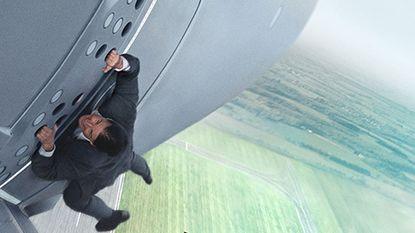 De strafste stunt van Tom 'Voor mij GEEN stand-in' Cruise (52) tot nu toe