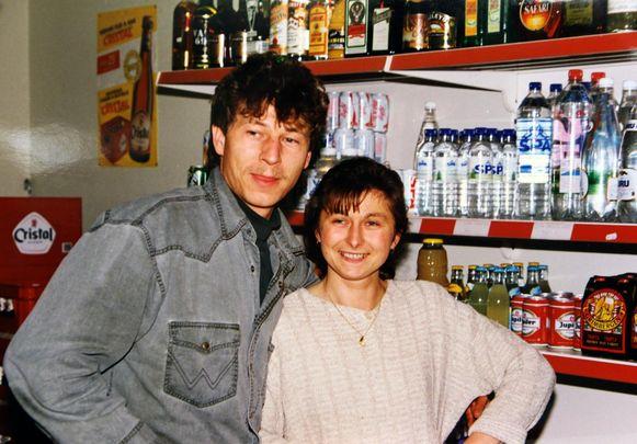 Pat en zijn vrouw Nicole Maeq 24 jaar geleden.