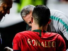 Ronaldo niet bang duels met Ajax te missen: 'Over twee weken speel ik weer'