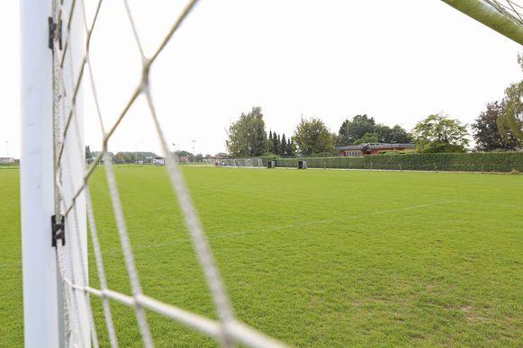 De voetbalvelden Tesseskouter