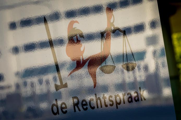 Het Paleis van Justitie in Den Haag.