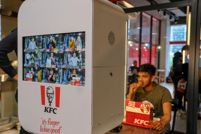 Archiefbeeld van het KFC-restaurant in Brussel-Noord.