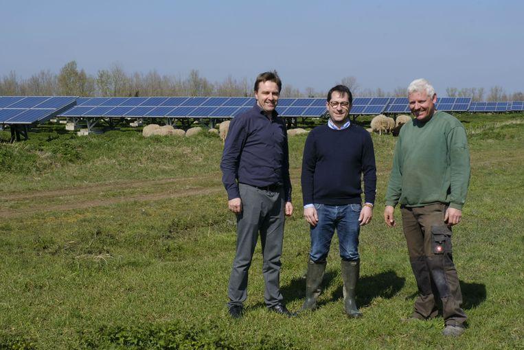 Bart Descamps van Verko, de schaapherder van Vijverhof en La Bêle Solution gaan voluit voor het ecologische project.