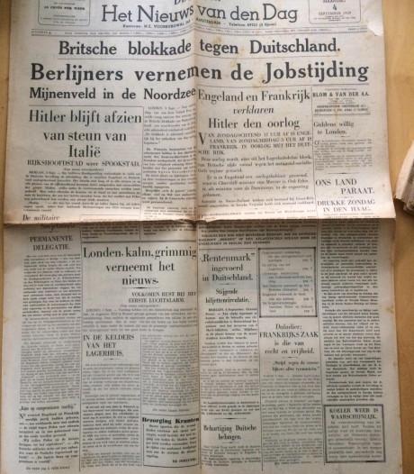 Regisseuse vindt kranten uit Tweede Wereldoorlog: 'Ik dacht eerst dit zou een mooi rekwisiet zijn'