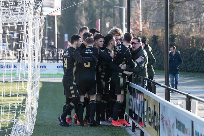 FC Winterswijk had reden tot juichen in Nijmegen.