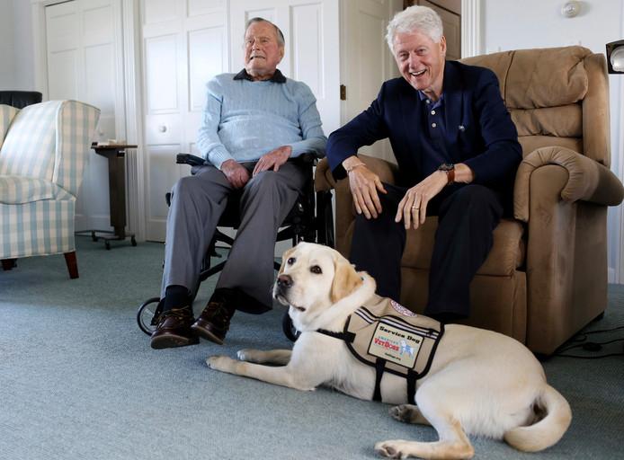 George H.W. Bush, Bill Clinton en Sully.
