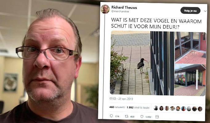Richard Theuws met zijn hilarische twitterdraadje.