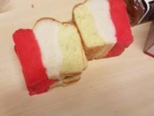 Ja, zelfs het brôôd in Oeteldonk is nu rood-wit-geel