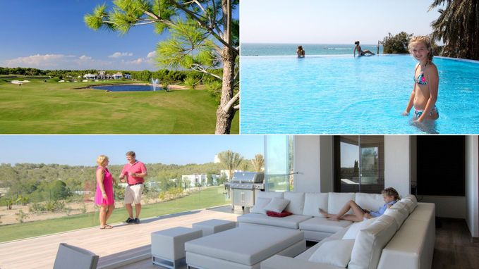 VIDEO: Eddy en Michèle kochten nieuwbouwflat met terras van 100 m² op luxueus Spaans golfdomein