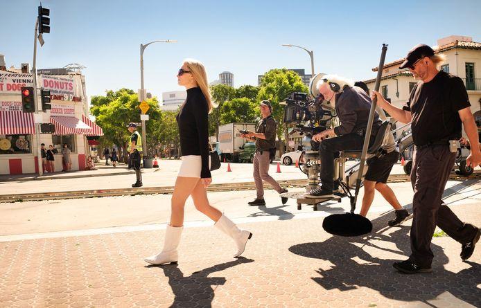 Margot Robbie joue Sharon Tate dans le film de Tarantino.