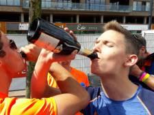 Militairen uit Breda als eerste over de meet in Rotterdam: 'We hebben iedereen ingehaald'