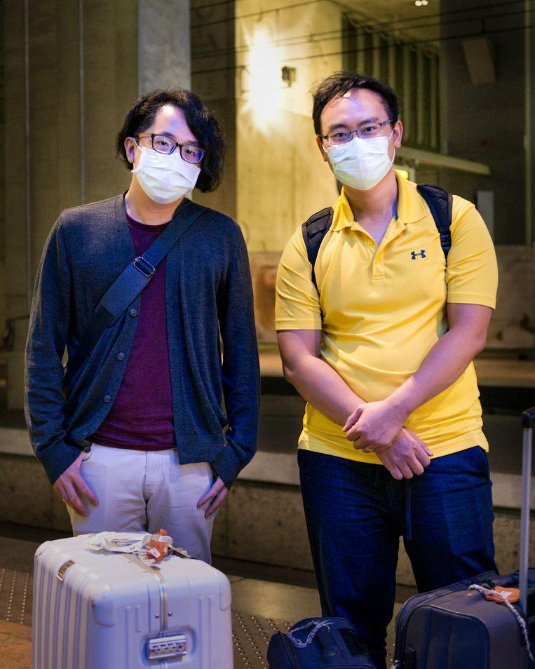Lee Weiyu(Links) Chern-An Lin(Rechts) Beeld Eva Faché