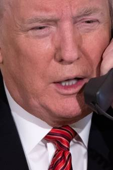 Telefoontje van Trump over de kniptor