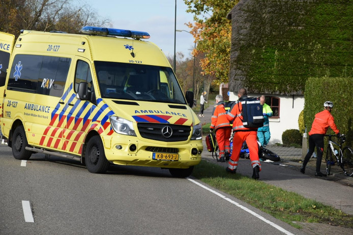Ongeluk op Rijsbergseweg Etten-Leur.