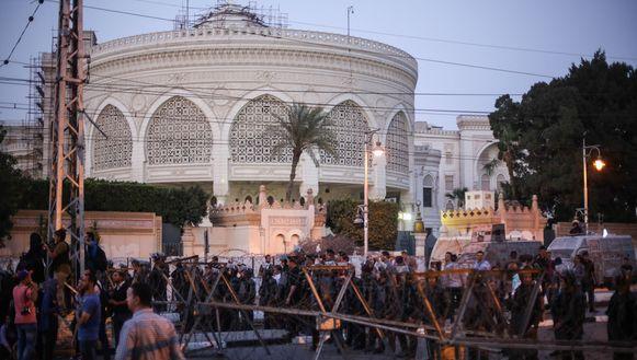 Demonstranten in Heliopolis vorige maand.