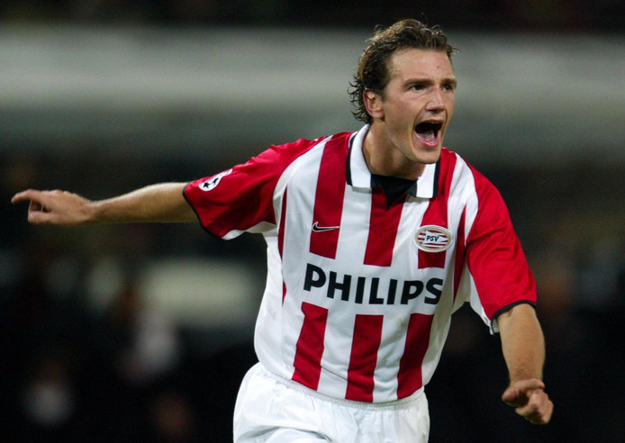 Arnold Bruggink als speler van PSV in 2003.