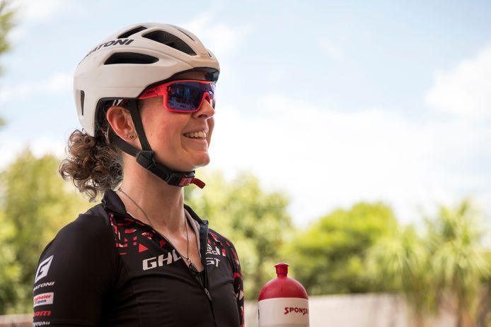 Anne Terpstra is gezien de omstandigheden blij met haar achtste plaats in Tsjechië.