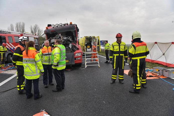 Ernstig ongeluk op A59