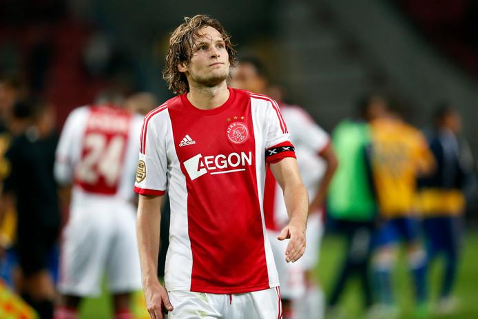 Daley Blind als aanvoerder van Ajax in 2013.