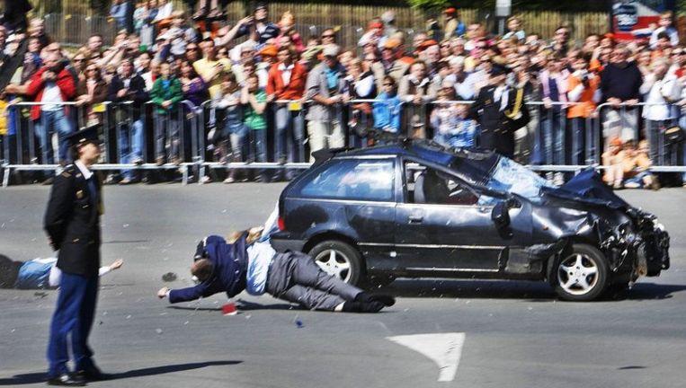 Niemand wist dat er een aanslag gaande was. Het was verbazing alom. Foto ANP Beeld