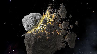 Gigantische crash tussen asteroïden in de ruimte leidde tot massaal uitsterven op aarde