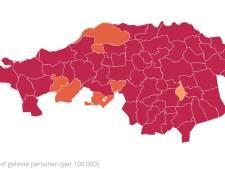 Daling aantal besmettingen in Brabant afgelopen etmaal