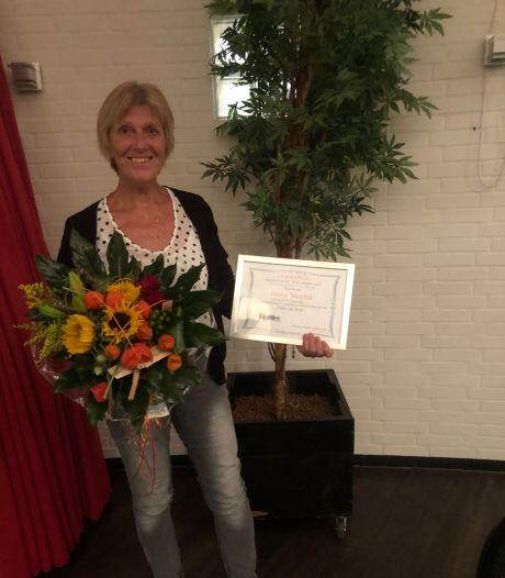 Janny Stegink lid van verdienste van Fysion Nijverdal