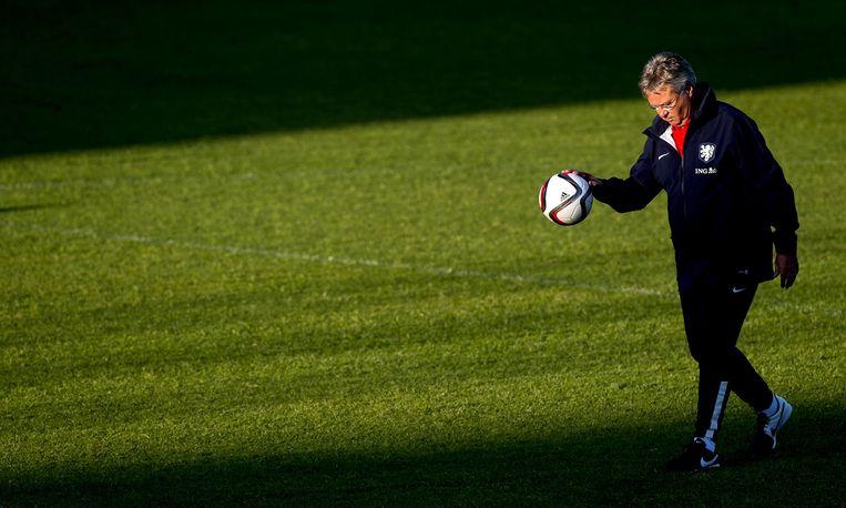 Voormalig trainer van het Nederlands Elftal Guus Hiddink. Beeld null