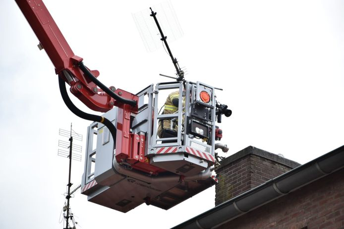 De antenne in Arnhem dreigde los te raken