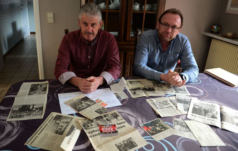 Collega's Jos Lambrechts en Dirk Vranken waren er die bewuste nacht bij toen hun makkers om het leven kwamen.