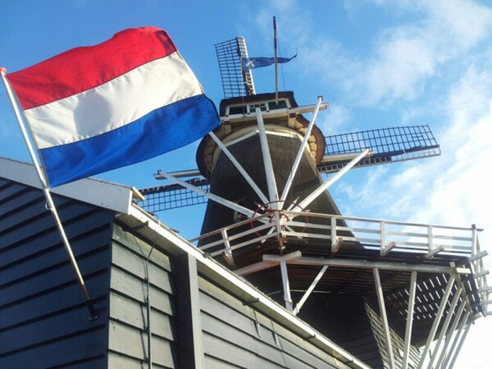 Het is feest bij oliemolen De Passiebloem in Zwolle.