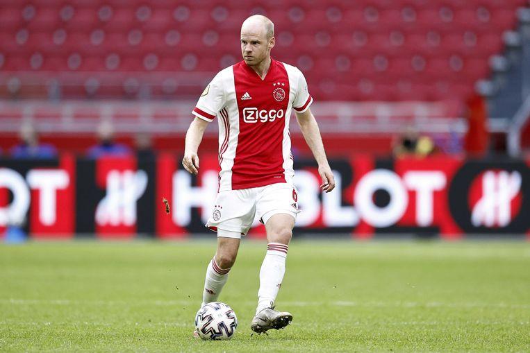 Davy Klaassen, terug bij Ajax, in actie tegen Heerenveen.  Beeld ANP